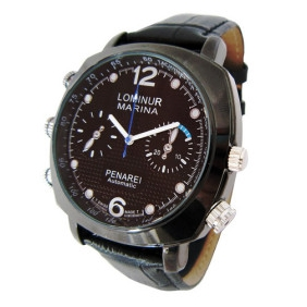 Wholesale 720P HD Waterproof Spy Watch with AV Out (4GB)