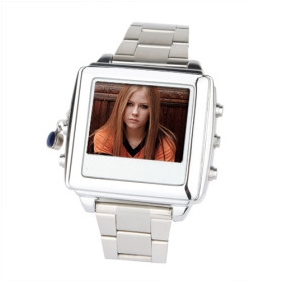Wholesale Spy Watch with 1.5 Inch LCD Screen (2GB, Silver)