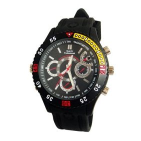 Wholesale HD Waterproof Sports Spy Watch (4GB)