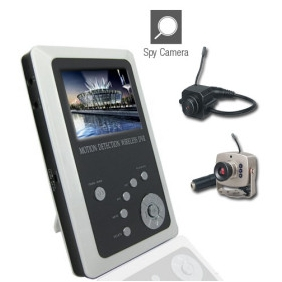 Wholesale 2.5 Inch TFT LCD 2.4GHz Wireless DVR Baby Monitor Kit with Small Camera