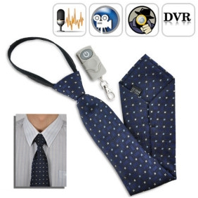 Wholesale Spy Necktie Camera with Remote Control (4GB)