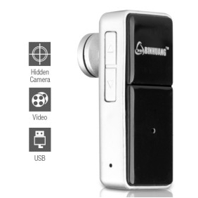 Wholesale HD Bluetooth Headset Style Spy Camera