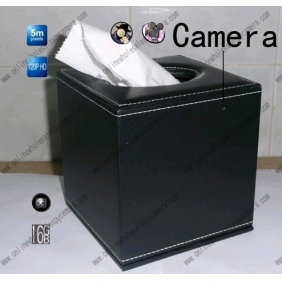 Wholesale Spy Tissue Box Hidden Hotel room Spy Camera 16GB HD 720P DVR Motion Detection Remote Control On/Off