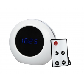 Wholesale Motion Detection Clock Camera Recorder DVR Clock Camera 1280x960(White)