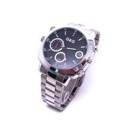 Wholesale 16GB Internal Memory Waterproof HD Camera IR Night Vision Wristwatch Camera