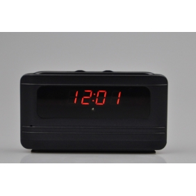 Wholesale 1280X720 Remote Control Portable Alarm Clock Spy Camera DVR with Motion Detection Support TF Card UP to 16GB