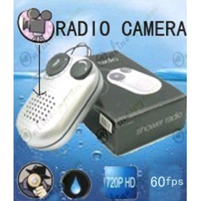 Wholesale HD Bathroom Spy Camera 60 Frames (Random Shaking Stable Recording) Digital Hidden Radio Camera 32GB