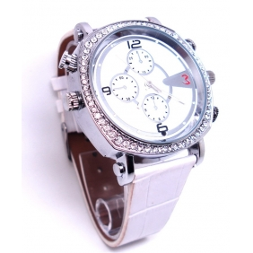 Wholesale New 720P HD 8GB Wristwatch Spy Camera With PC Camera Function(Commercial Stylish)