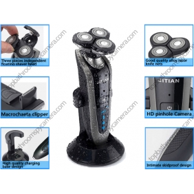 Wholesale HD Bathroom Spy Camera Waterproof Spy Shaver Camera DVR 32GB 1280x720