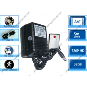 Wholesale Charger Hidden HD Bedroom Spy Camera DVR 32GB 1280X720 with Motion Activated And Remote Control Function