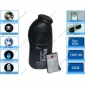 Wholesale Bathroom Spy Camera Black Men's Shower Gel Mini Secret Pinhole C